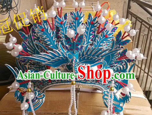Chinese Classical Three Phoenixes Crown