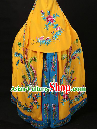 Phoenix Embroidery Empress Cape Mantle