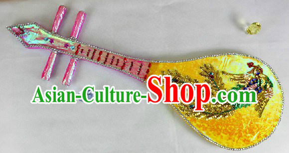 Traditional Handmade Chinese Lute Prop for Kids