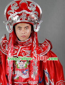 Ancient Chinese Dramatic Art Bian Lian Costumes Pants Belt Hat and 12 Masks Complete Set