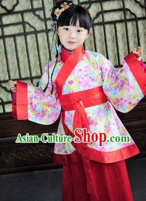 Traditional Chinese Clothes for Little Girls