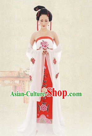 Ancient Chinese Celestial Beauty Clothes
