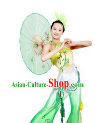 Osmanthus Dance Costumes and Headgear Complete Set for Women