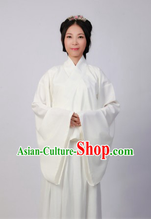 Traditional Ancient White Chinese Clothing for Women