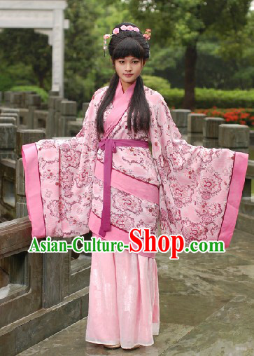Traditional Chinese Birthday Initiation Rite Clothes for Girls