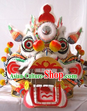 Supreme Chinese Festival Celebration Kylin Dance Costumes Complete Set