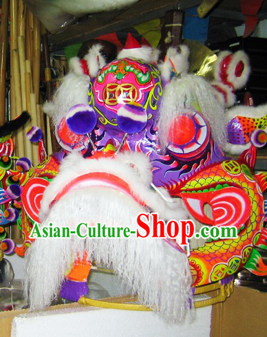 Professional Chinese Festival Celebration Kylin Dance Costumes Complete Set