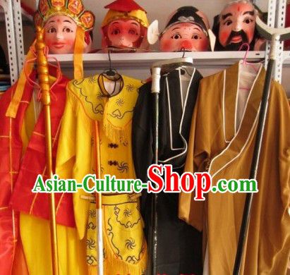 Journey to the West Chinese Festival Celebration Parade Performance Costumes Four Complete Sets