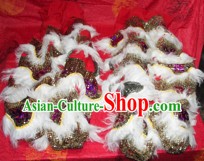 Top Quality Two Pairs of Lion Dance Pants and Claws Covers
