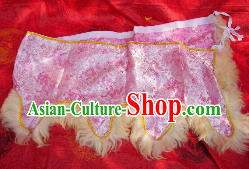Dragon Brocade Fabric Lion Dance Joint Collar