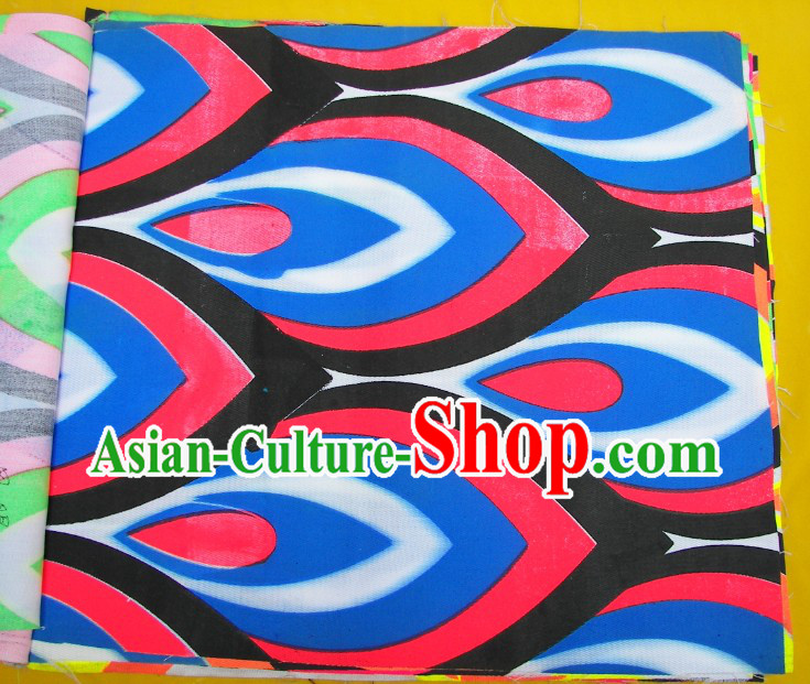 Red Blue Black Ultra Violet Phoenix Eyes Dragon Dance Costume Complete Set