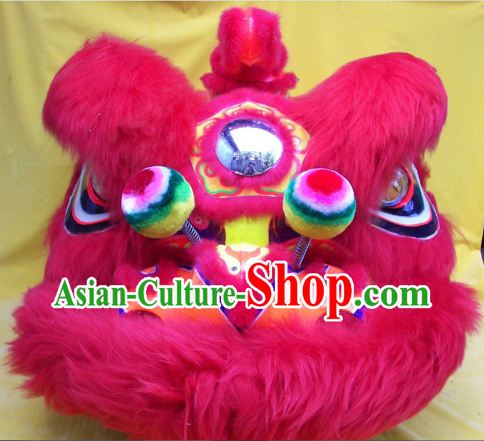 Professional Competition and Performance Lion Dance Costumes Complete Set for Kids