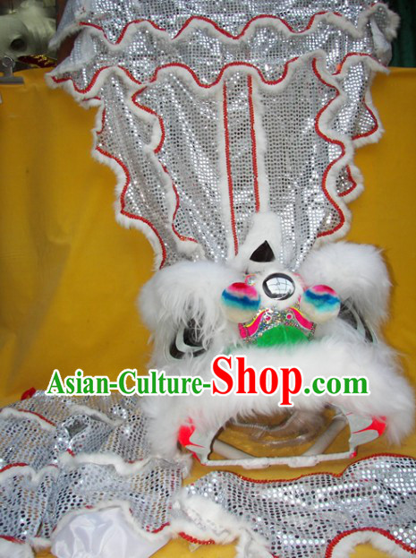 One Person Children Size Lion Dance Costume for Kids