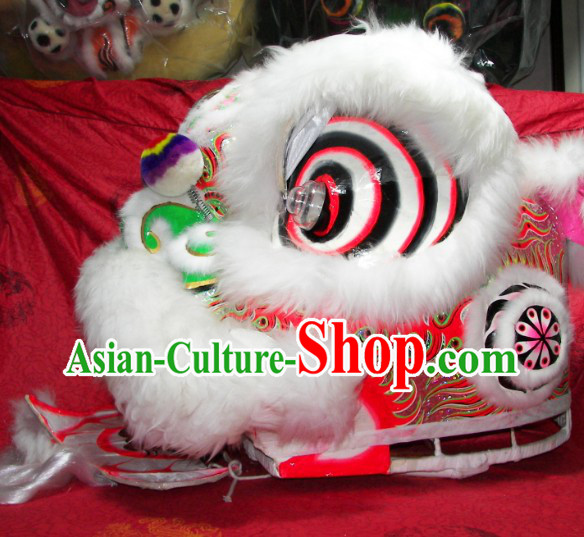 Beautiful Handmade Traditional Chinese Lion Dance Costumes Complete Set