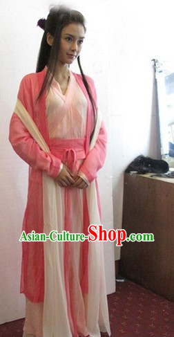 Ancient Chinese Swordswoman Female Clothing