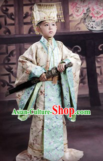 Ancient Palace Prince Costumes for Children