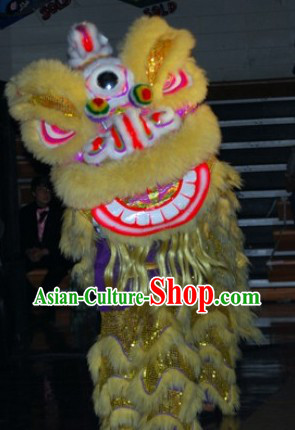 Worldwide Delivery Traditional Asian Lion Dance Costume Complete Set