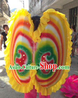Chinese Lunar New Year Parade Clam Dance Prop Costumes Complete Set