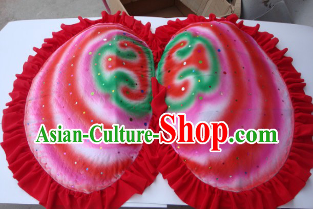 Chinese New Year Festival Celebration Clam Dancing Props Costumes Complete Set