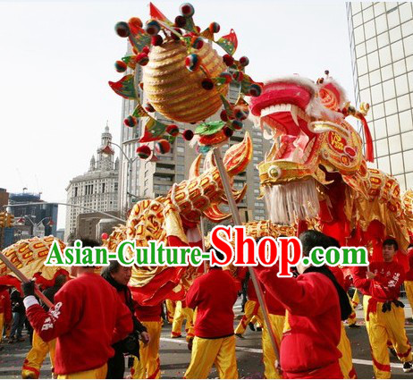 Best Chinese Classical Dragon Dancing Costume Complete Set