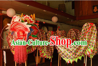 Best Handmade Chinese Classical Dragon Dance Costumes Complete Set