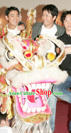 Supreme Best Gold Important Events Festival Handmade Dragon Dance Equipment Full Set