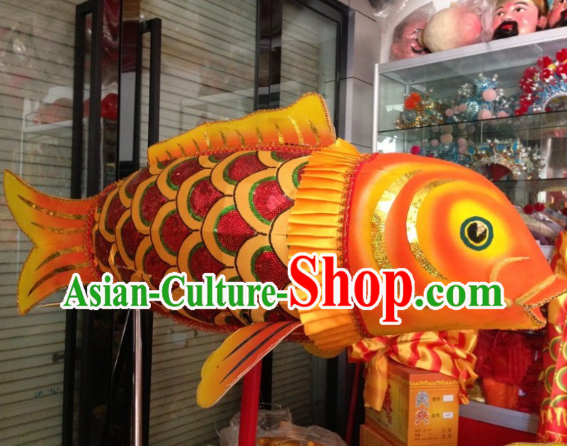 Traditional Chinese Lunar New Year Decoration Fish Dance Costume