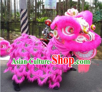 Competition and Performance Supreme Lion Dance Suit Complete Set