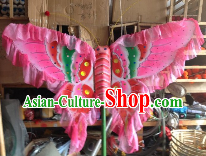 Handmade Leading Dragon Dance Butterfly Arts