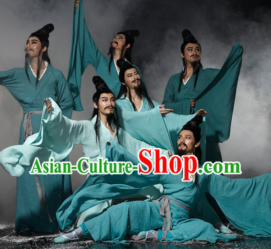 Ancient China Han Dynasty Clothes