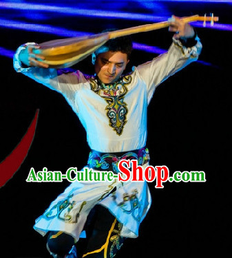 Professional Stage Performance Mongolian Clothes for Men
