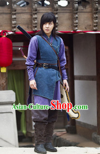 Ancient Korean Swordwoman Costumes Complete Set