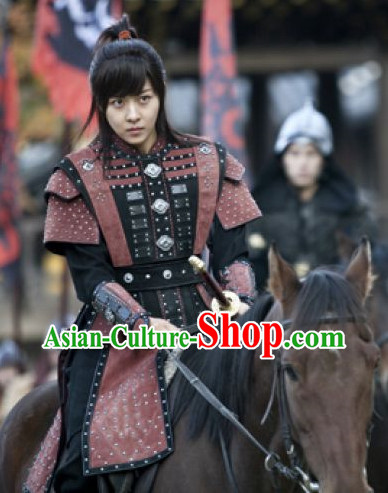 Ancient Korean General Armor Costumes Complete Set
