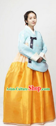 Ancient Korean Imperial Hanbok Clothes for Women