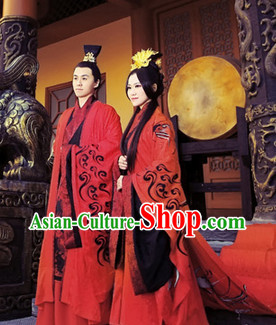 Traditional Chinese Bridal Wedding Dresses Two Complete Sets