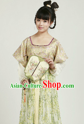 Chinese Classical Han Dynasty Clothing for Women