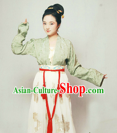 Chinese Classical Hanfu Dresses for Girls