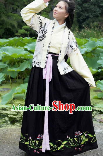 Ancient China Han Fu Suit for Girls