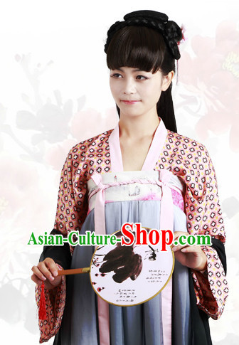 Free Shipping Worldwide Ancient Chinese Tang Dynasty Clothes for Women