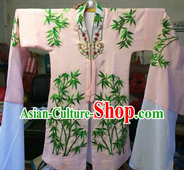 Chinese Stage Hua Dan Actor Long Sleeves Costumes