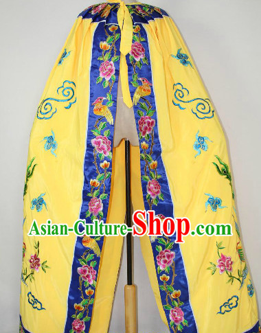 Chinese Photography Costume Embroidered Mantle Cape