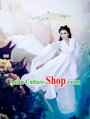 Ancient Chinese White Lady Costumes
