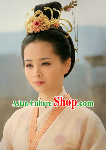 Ancient Chinese Imperial Palace Lady Hair Jewelry