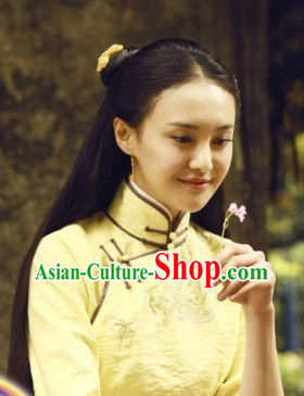 China Traditional Blouse and Skirt for Women