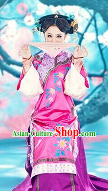 Traditional Chinese Mandarin Long Robe