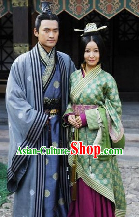 Ancient Chinese Clothing for Men and Women