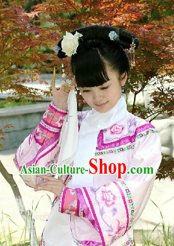 Chinese Traditional Qing Dynasty Cheongsam