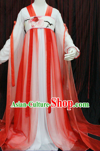 Ancient Chinese Hanfu Clothes for Girls