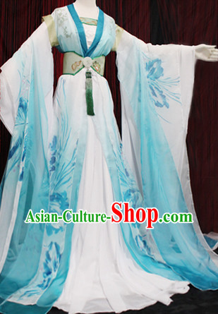 Traditional Chinese Hanfu Attire Complete Set