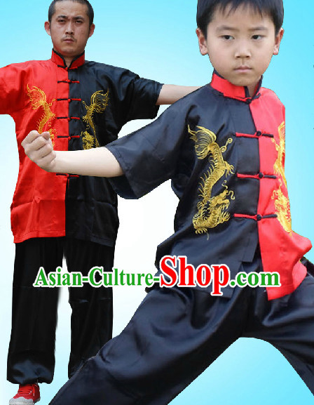 Wushu Kung Fu Martial Arts School Uniforms